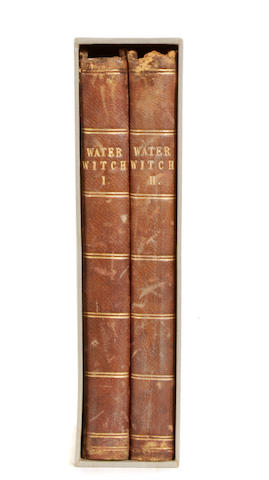COOPER, JAMES FENIMORE. 1789-1851. The Water-witch, or the Skimmer of the Seas, a Tale. 1831.