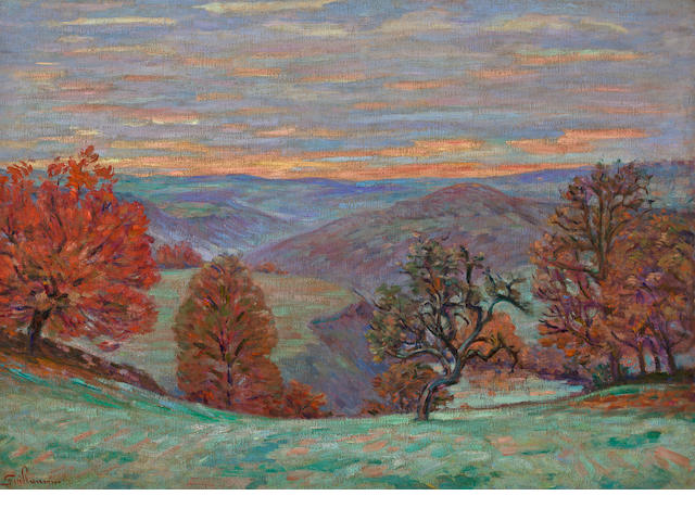 Armand Guillaumin (French, 1841-1927) Crozant, le Puy Barriou, 1898 25 3/4 x 36 1/4in (65.5 x 92cm)