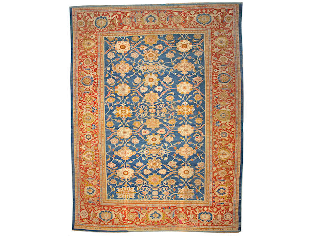 A Sultanabad carpet Central Persia, size approximately 13ft. 8in. x 18ft. 3in.