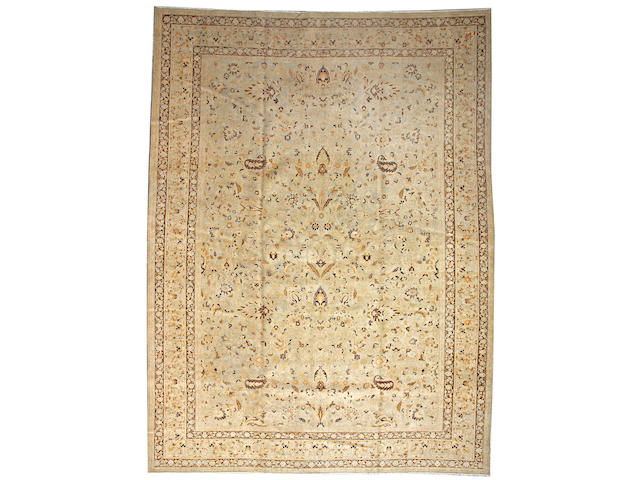A Meshed carpet Central Persia, size approximately 11ft. 3in. x 15ft.