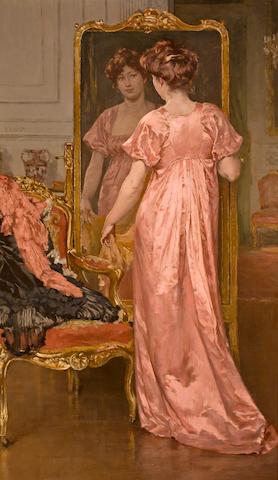 Walter MacEwen (American, 1860-1943) Vanity 39 3/4 x 24in