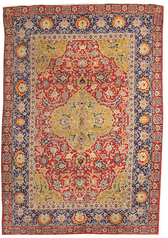 A Tabriz carpet Northwest Persia, size approximately 7ft. 7in. x 11ft.