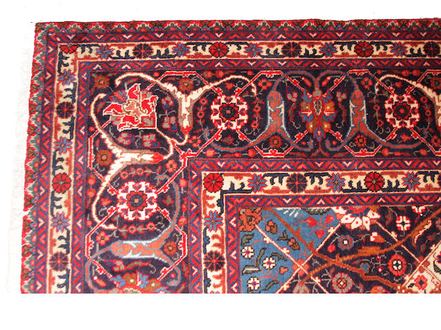 A Heriz design carpet size approximately 12ft. x 16ft.