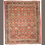 A Mahal carpet Central Persia, size approximately 8ft. 9in. x 10ft. 9in.