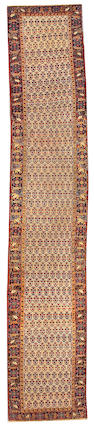 A Bidjar runner Northwest Persia, size approximately 3ft. x 16ft. 5in.
