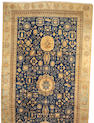 A Khotan carpet Turkestan, size approximately 10ft. 2in. x 19ft. 3in.
