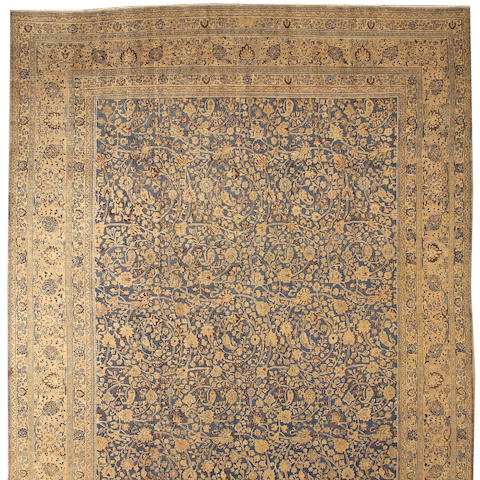 A Meshed carpet Central Persia, size approximately 13ft. 8in. x 19ft. 1in.