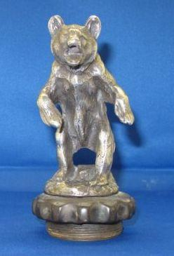 A Grizzly bear mascot by Charles Paillet, French, 1925,