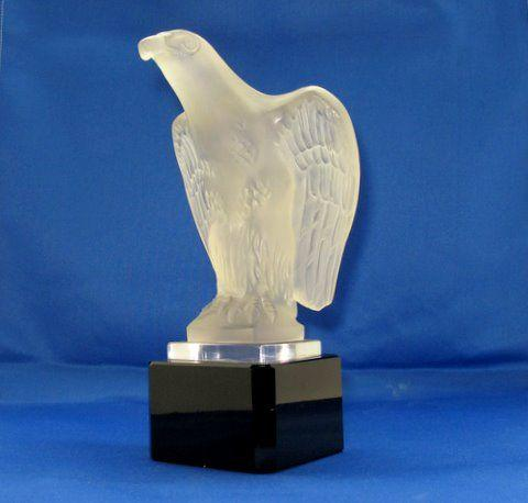 A Standing Eagle glass mascot by Red Ashay,