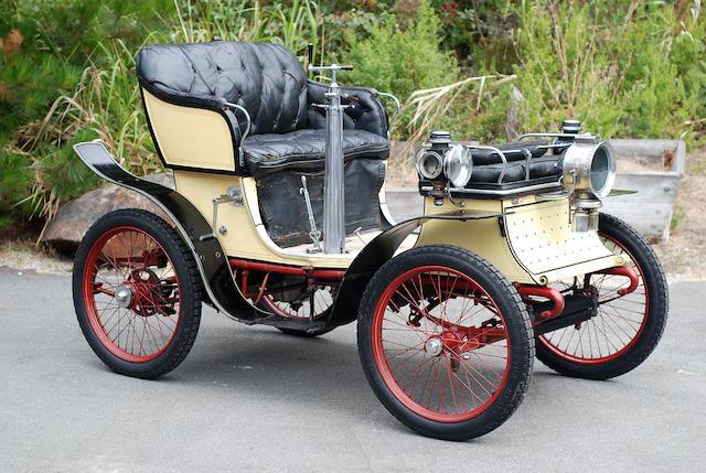 1901 De Dion Bouton Motorette Vis-á-Vis  Chassis no. 126 Engine no. 2822