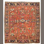 A Heriz carpet Northwest Persia, size approximately 10ft. 6in. x 12ft. 6in.