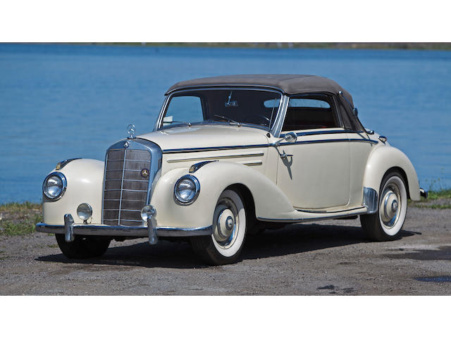 1953 Mercedes-Benz 220 Cabriolet  Chassis no. 220/187012 - 02134/53