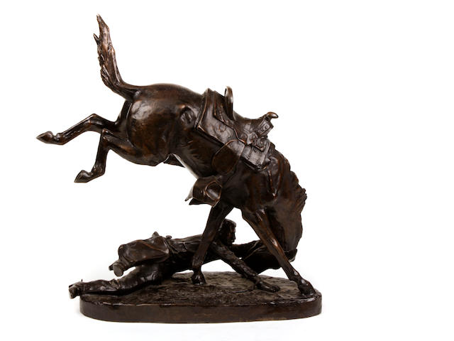 After Frederic Remington The Wicked Pony Height: 23 1/4in