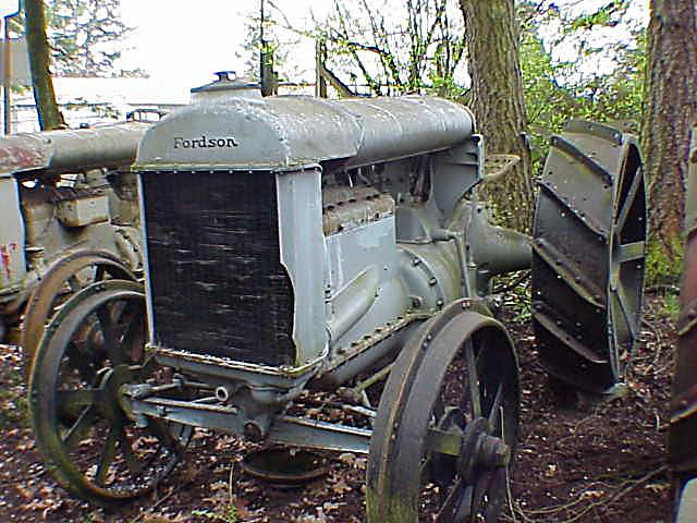 1927 Fordson Model K Tractor  Chassis no. 670529