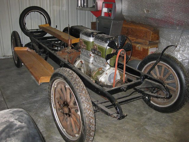 1916 REO Model M  Chassis no. 4388