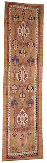 A Serab runner Central Persia, size approximately 3ft. 3in. x 13ft. 4in.