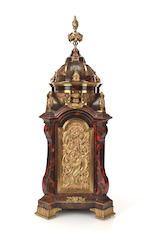 a mason tortoiseshell musical & automata mantle clock