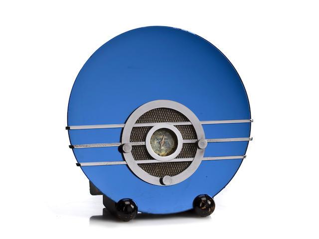 A Sparton Bluebird 566 designed by Walter Dorwin Teague 1935-1936