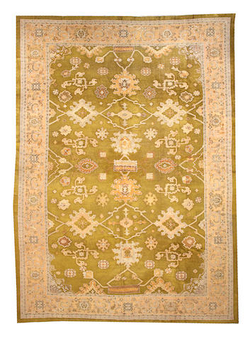 A Sultanabad carpet Central Persia, size approximately 12ft. 6in. x 17ft. 8in.
