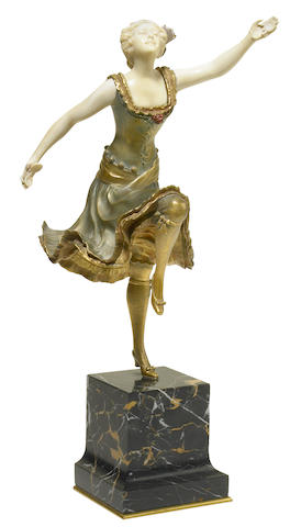 Henri Fugère (French, 1872-1944) Dancer with castanets