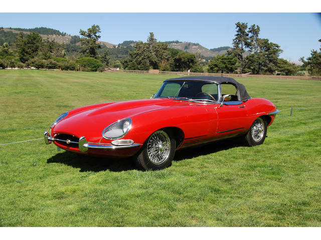 1967 Jaguar E-Type 4.2 Series 1 Open Two Seater  Chassis no. 1E 14777 Engine no. 7E 12248-9