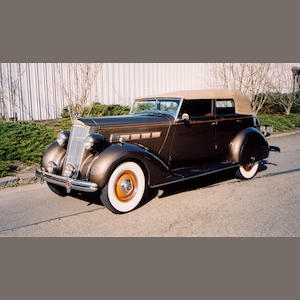 1936 Packard Eight Convertible Sedan  Chassis no. 9971781