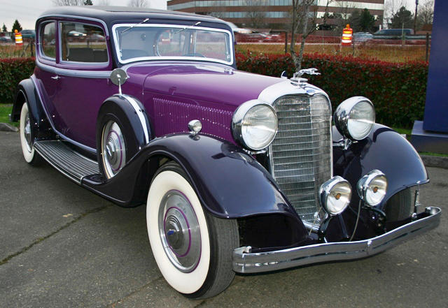 One of 18 built, and the only known surviving,1933 Lincoln KB Victoria Coupe  Chassis no. KB2137