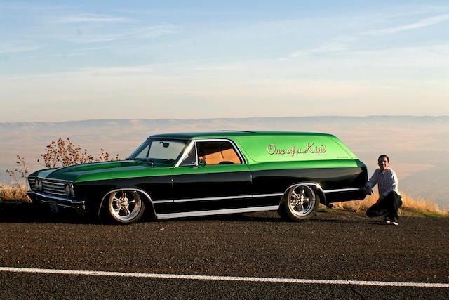 1966 Chevrolet El Camino Panel Delivery Streetrod
