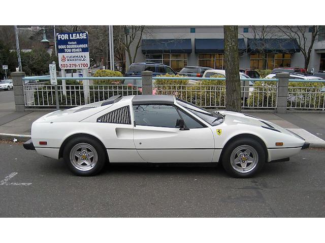 1984 Ferrari 308 GTSi  Chassis no. ZFFUA13A0E0051449