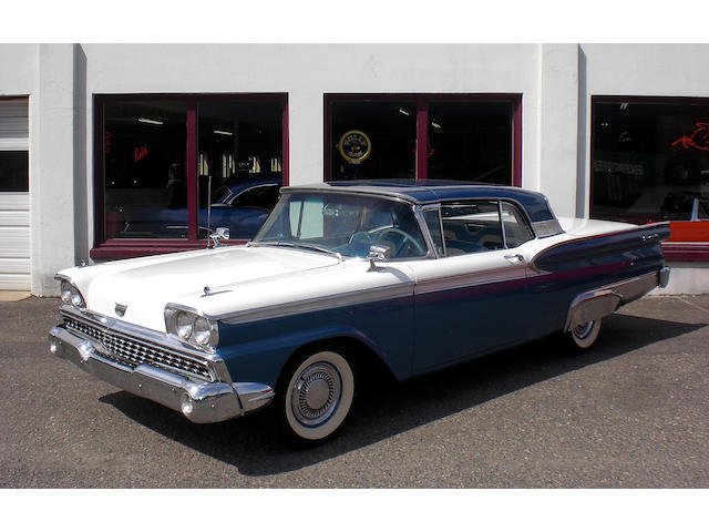 1959 Ford Fairlane Skyliner Hardtop Convertible  Chassis no. H9RW127491