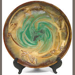 A Fulper glazed earthenware fish bowl 1909 - 1916