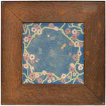 An American Encaustic Tile Company glazed earthenware tile early 20th century