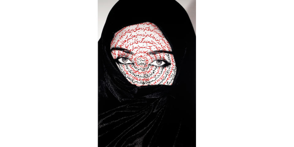 Shirin Neshat (Iranian, born 1957); I am its secret;
