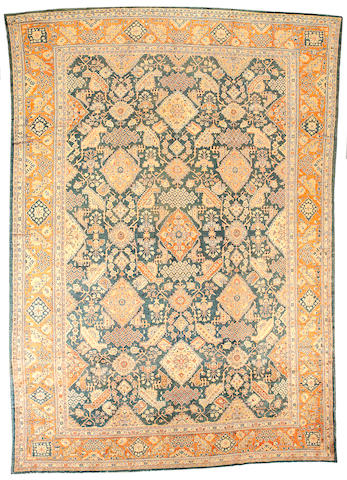 A Sultanabad carpet Central Persia, size approximately 11ft. 2in.x 15ft. 8in.