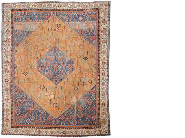 A Malayer carpet Central Persia, size approximately 10ft. 8in. x 13ft. 7in.