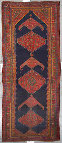 A Bidjar long carpet Northwest Persia, size approximately 7ft. x 17ft.