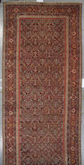 A Malayer carpet circa 1920 size approximately 8ft. 4in. x 19ft. 8in.
