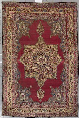 A Lavar Kerman rug Size approximately 8ft. x 12ft. 6in.