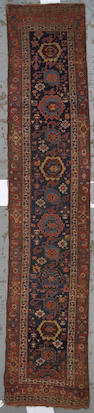 A Bidjar runner Size approximately 14ft. 4in. x 2ft. 11in.