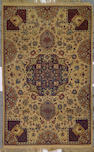 An Isphahan rug Central Persia, size approximately 3ft. 5in. x 5ft. 5in.