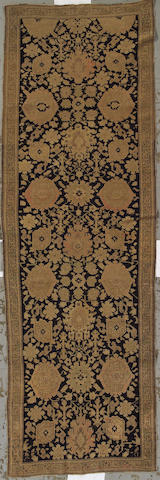 A Karabaugh runner Caucasus, size approximately  3ft. 10in. x 12ft.