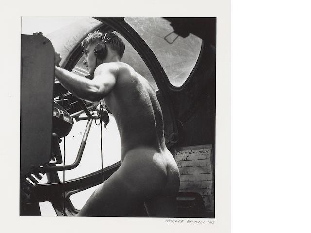 Horace Bristol (American, 1909-1997); Rescue at Rabaul: PBY Blister Gunner;