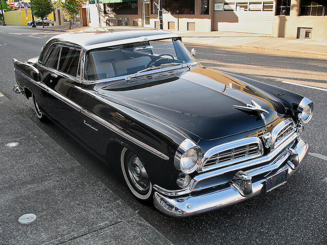 1955 Chrysler Windsor Deluxe Nassau 2-door Hardtop  Chassis no. W5518585