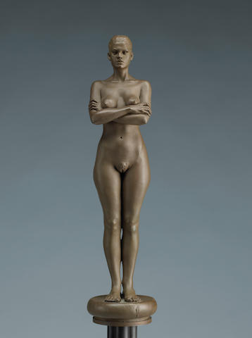 Robert Graham (American, 1938-2008) Sasha, 1993 19 x 4 3/4 x 4 3/4in height with base 58 1/2in