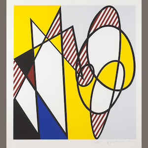 Roy Lichtenstein (American, 1923-1997); Best Buddies;