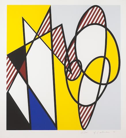 Roy Lichtenstein (American, 1923-1997); Best Buddies;