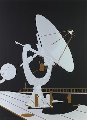 (n/a) Lowell Nesbitt (American, 1933-1993); Cape Kennedy; (8)