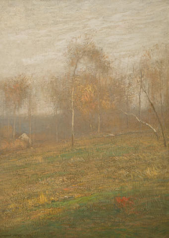 (n/a) John Francis Murphy (1853-1921) Golden afternoon 22 x 16in