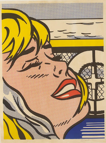 Roy Lichtenstein (American, 1923-1997); Shipboard Girl;