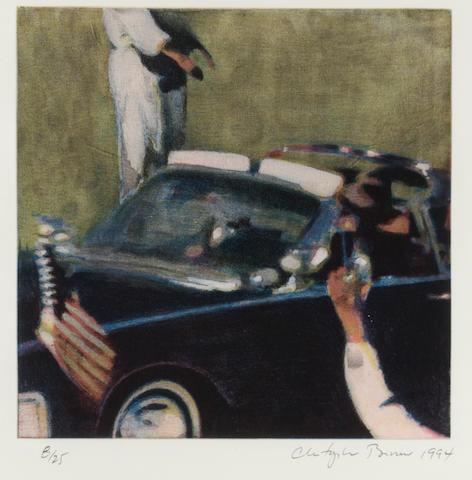Christopher Brown (American, born 1951); Flag; Runner; (2)